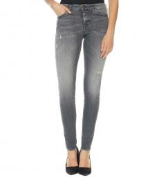 Dark Grey Super Skinny Jeans