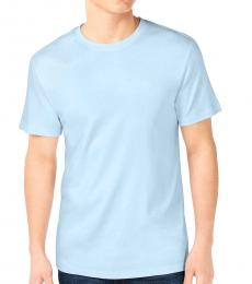 Light Blue Supima Crewneck T-Shirt