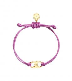 Tory Burch Purple Embrace Ambition Bracelet