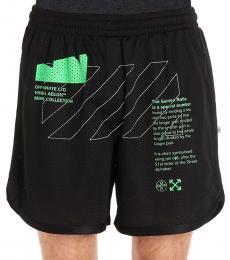 Off-White Black Arch Shorts