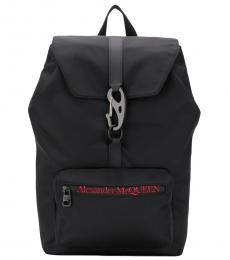 Alexander McQueen Black Urban Large Backpack