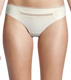 Calvin Klein Glowed Up Mesh-Trim Thong Underwear