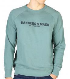 Hackett Blue Graphic Print Sweatshirt