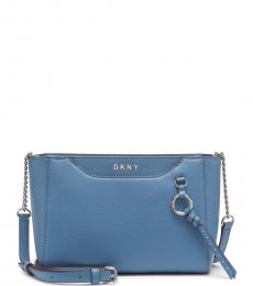 DKNY Coastal Blue Lola Medium Crossbody