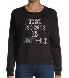 Rebecca Minkoff Black Force Is Female Sweatshirt