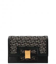 Balmain Black Bbuzz Small Shoulder Bag