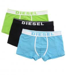 Diesel Multicolor Stretch Pack 3 Boxer Set