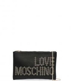 Love Moschino Black Logo Clutch