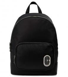 Coach Black Court Large Backpack