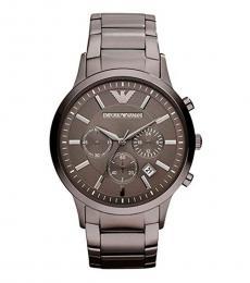 Emporio Armani Metallic Copper Dial Classic Watch