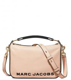 Marc Jacobs Beige The Softbox Medium Crossbody Bag