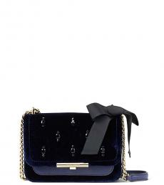 Kate Spade Blue Juliane Small Shoulder Bag
