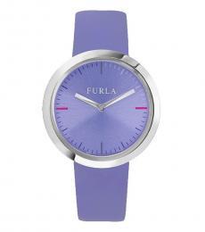 Furla Lilac Dial Valentina Watch