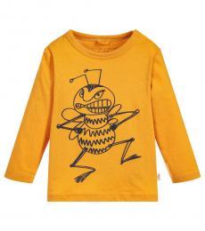 Stella McCartney Baby Girls Yellow Georgie T-Shirt