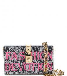 Grey Fashion Devotion Mini Shoulder Bag