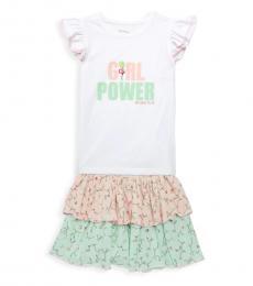 BCBGirls 2 Piece Top/Skirt Set (Little Girls)