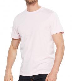 Calvin Klein Plush Pink Tonal Logo T-Shirt