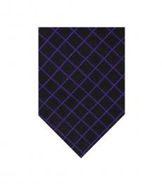 Ralph Lauren Black Well Tailored Geometric Tie