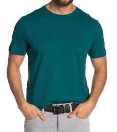 Green Front Brand Logo T-Shirt
