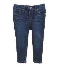 AG Adriano Goldschmied Baby Girls Imperial Blue Twiggy Skinny Jeans