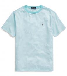 Ralph Lauren Little Boys Island Aqua Striped T-Shirt