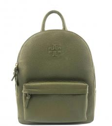 Tory Burch Banana Leaf Thea Zip Around Medium Backpack