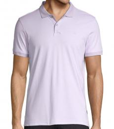 Orchid Liquid Touch Striped Polo