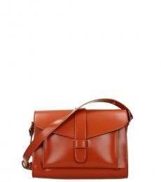 Marni Orange Solid Medium Messenger Bag