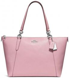 Carnation Pink Ava Chain Large Tote