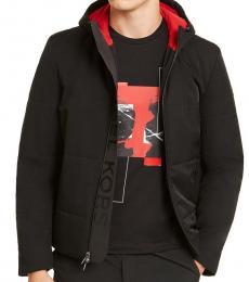 Michael Kors Black Tech Travel Jacket