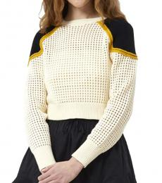 White Alexis Sweater