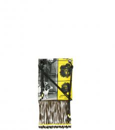 Yellow Graphic Large Crossbody