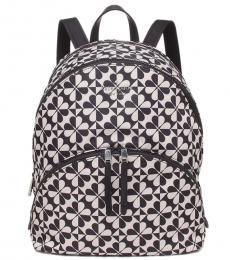 Black Karissa Large Backpack
