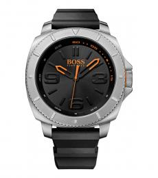 Hugo Boss Black Silicon Strap Watch