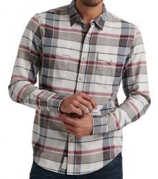 Multicolor Derek Snap Plaid Shirt