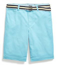 Ralph Lauren Boys Neptune Slim Fit Belted Chino Shorts