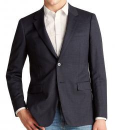 Navy Blue Chambers Clarke Jacket
