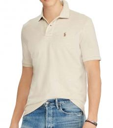 Ralph Lauren Expedition Dune Classic Fit Mesh Polo