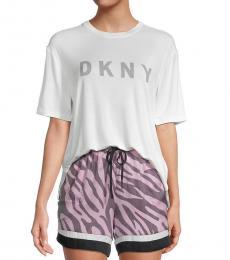DKNY White 3-Piece Pj Set