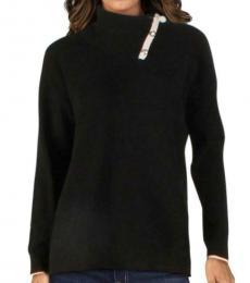 Ralph Lauren Black Cashmere Pullover Sweater
