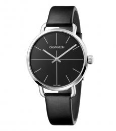 Calvin Klein Black Even Quartz Watch