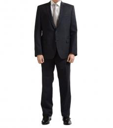 Charcoal Two Button Suit