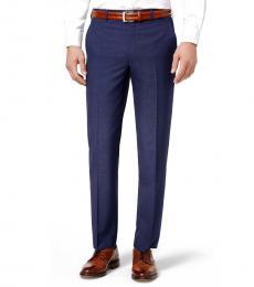 Ralph Lauren Medium Blue Classic-Fit Dress Pants