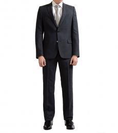 Dark Grey Two Button Suit