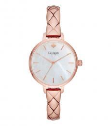 Kate Spade Rose Gold Metro Skinny Watch