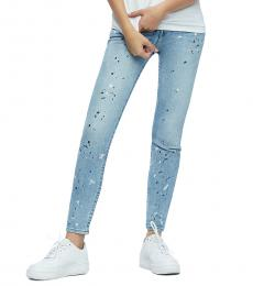 Color Wheel Halle Ankle Skinny Fit Stretch Jeans