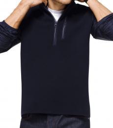 Michael Kors Midnight Media Quarter-Zip Pullover