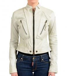 Just Cavalli Light Grey Basic Jacket