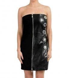 Black Black Embellished Mini Dress