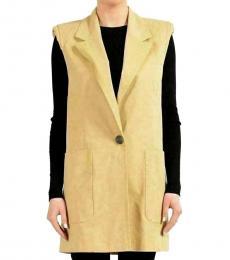 Versus Versace Khaki Vest Coat